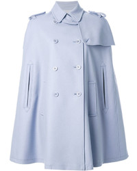 Manteau cape bleu clair RED Valentino