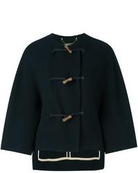 Manteau cape bleu marine Chloé