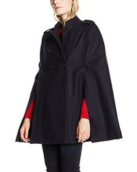 Manteau cape bleu marine French Connection