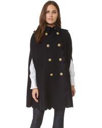 Manteau cape bleu marine RED Valentino