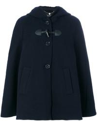 Manteau cape bleu marine Twin-Set