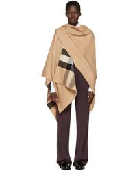 Manteau cape brun clair Burberry