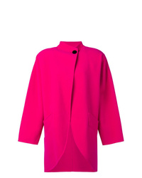 Manteau cape fuchsia Marc Jacobs