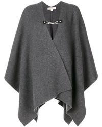 Manteau cape gris foncé MICHAEL Michael Kors