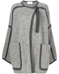 Manteau cape gris Chloé
