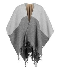 Manteau cape gris Pieces