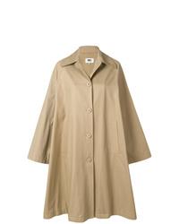 Manteau cape marron clair MM6 MAISON MARGIELA