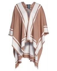 Manteau cape marron Ralph Lauren