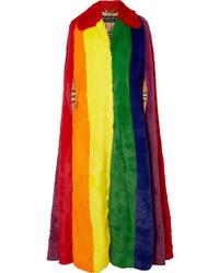 Manteau cape multicolore Burberry