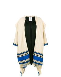 Manteau cape multicolore Etro