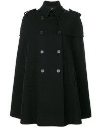 Manteau cape noir
