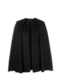 Manteau cape noir Alexander McQueen