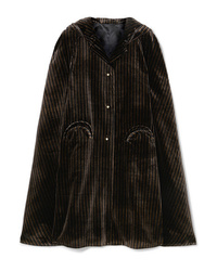 Manteau cape noir Blazé Milano
