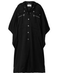 Manteau cape noir Chloé