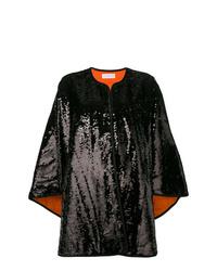 Manteau cape noir Faith Connexion