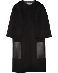 Manteau cape noir Fendi