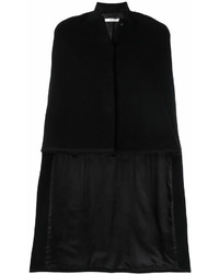 Manteau cape noir Givenchy