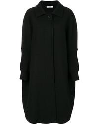 Manteau cape noir Jil Sander