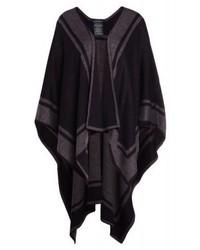 Manteau cape noir Ralph Lauren