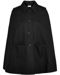 Manteau cape noir RED Valentino