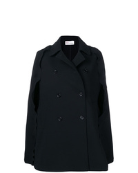 Manteau cape noir RED Valentino
