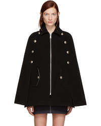 Manteau cape noir See by Chloe