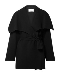 Manteau cape noir The Row