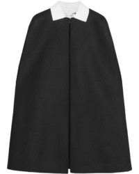Manteau cape noir Valentino