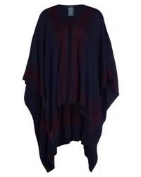 Manteau cape pourpre foncé Ralph Lauren