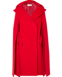 Manteau cape rouge Antonio Berardi