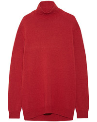 Manteau cape rouge Marni