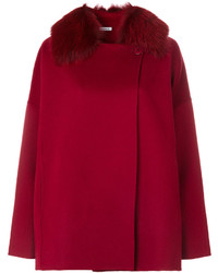 Manteau cape rouge P.A.R.O.S.H.