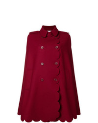 Manteau cape rouge RED Valentino