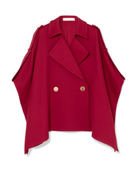 Manteau cape rouge See by Chloe