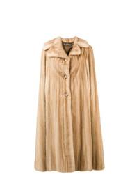Manteau de fourrure beige A.N.G.E.L.O. Vintage Cult