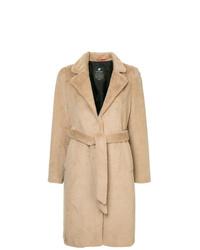 Manteau de fourrure beige Loveless
