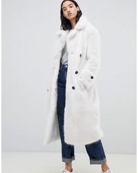 Manteau de fourrure blanc Urbancode