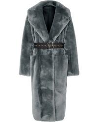 Manteau de fourrure gris Common Leisure