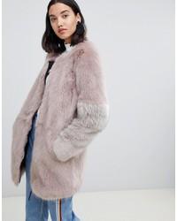 Manteau de fourrure gris Urbancode