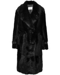 Manteau de fourrure noir Common Leisure