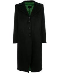 Manteau de fourrure noir Giorgio Armani