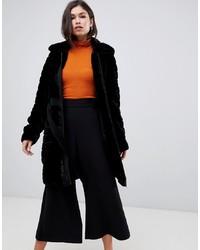 Manteau de fourrure noir Y.a.s