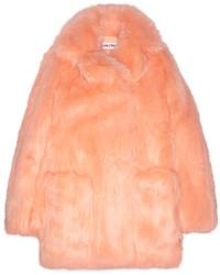 Manteau de fourrure orange See by Chloe