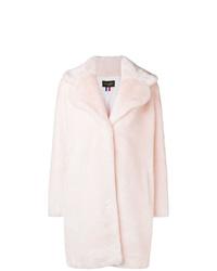 Manteau de fourrure rose La Seine & Moi