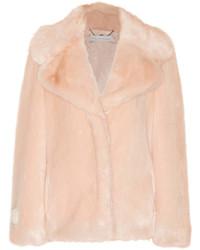 Manteau de fourrure rose Stella McCartney