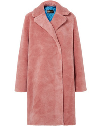 Manteau de fourrure rose Stine Goya