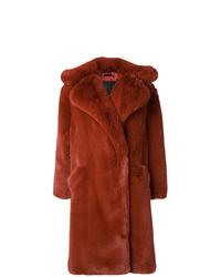 Manteau de fourrure tabac Givenchy