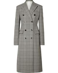 Manteau écossais gris Calvin Klein 205W39nyc