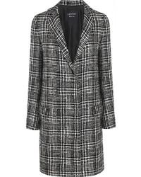 Manteau écossais gris Lanvin