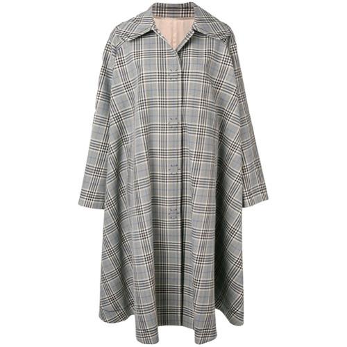 Manteau écossais gris MM6 MAISON MARGIELA